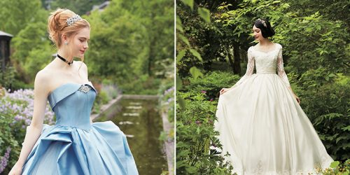 Disney Collabs with Japanese Wedding Company to Make Gorgeous Princess Wedding Dresses