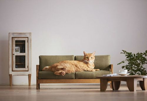 Miniature Cat Furniture From Japan by Okawa Kagu