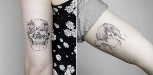 22 Black Fine Line Tattoos by Rising Star Phoebe Hunter