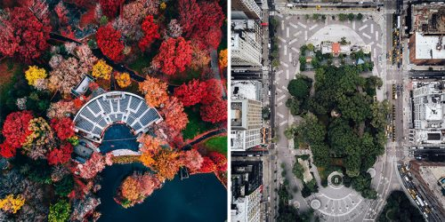 Outlaw Photographer Sends Drone Over NYC to Capture Stunning New City Look