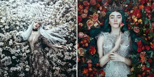 Strong Female Characters in Flowy Dresses from Fairytale Land