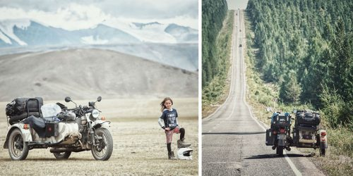 Family Travels 26,000Km in 4 Months with 6-Year-Old Son in Sidecar Motorcycle