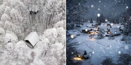 Breathtaking Winter Magic Upon Japan
