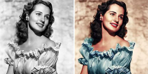 Old Famous Black & White Photographs Now in Full Color – Before and After