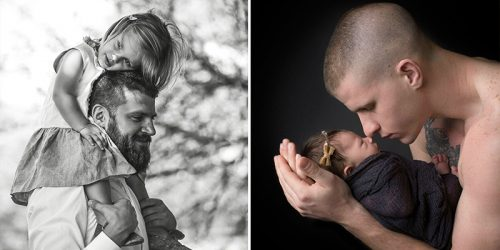Heartbroken Photographer Captures Special Bond Between Fathers and Their Children