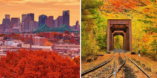 Soothing Autumn Covers Boston and Massachusetts Suburbs by Greg DuBois