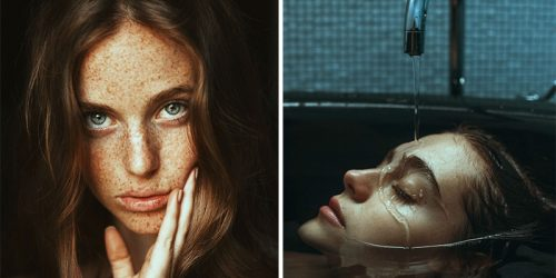 Dramatic Female Portraits by Alessio Albi