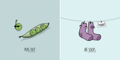 Hilarious Play-On-Words Illustrations