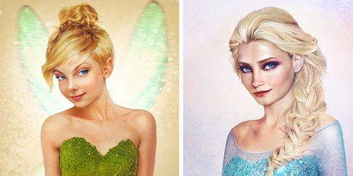 Disney Characters Brilliantly Transformed into Real-Life People