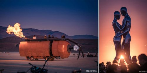 Burning Man 2018 – Photographer's Final Visit and His Intergalactic Wedding Day