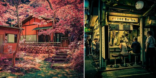 Photographer's Childhood Dream to Visit Japan Finally Comes True