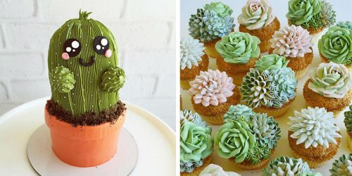 Delicious Cakes That Look Like Real Cacti and Flowers by Incredible Cake Artist Leslie Vigil