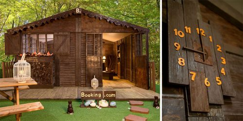 Chocolate Cottage Available for Overnight Stay