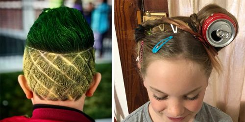 27 The Most Creative Ideas For Crazy Hair Day