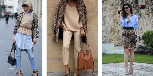 Spice up Your Wardrobe With Leopard Print This Fall