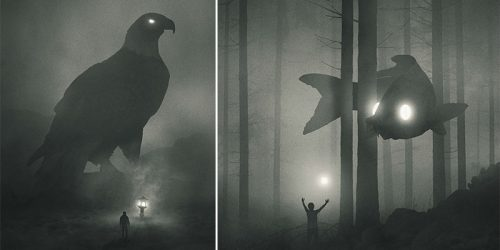 Dark Mystic Jungle Beasts – Depression Transformed into Creativity and Art Passion