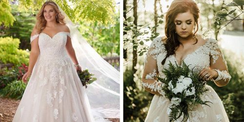 25 Gorgeous Plus Size Wedding Dresses We Love