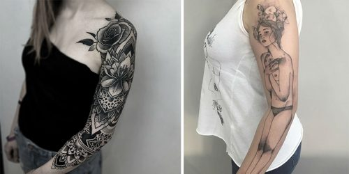 Great Full Sleeve and Half Sleeve Tattoo Ideas