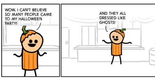 Twisted Humor in Short Webcomics by Cyanide & Happiness