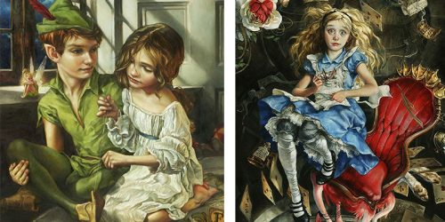 Incredible Disney Oil Paintings by Heather Theurer