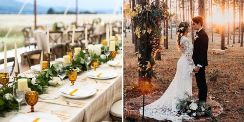 40 Rustic and Genius Fall Wedding Ideas