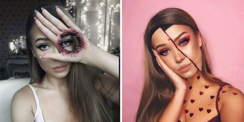 Top 15 Scariest Make-Ups by Monika Falčik