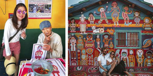 Rainbow Village – Art That Saved Entire Village from Destruction
