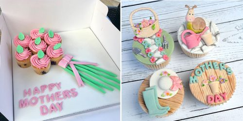 26 Lovely Mother's Day Cupcake Decoration Ideas