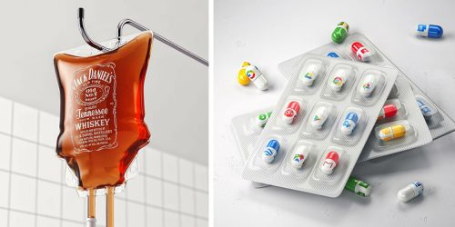 Everyday Objects Transformed Into Creative Illustrations