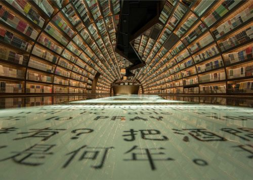 Entire Bookstore is an Optical Illusion and Dream Come True for All Book Lovers