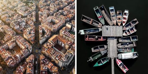 Bewitching Aerial Photos of Barcelona by Márton Mogyorósy