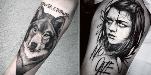 The Most Epic Game of Thrones Tattoos for the Most Dedicated Enthusiasts