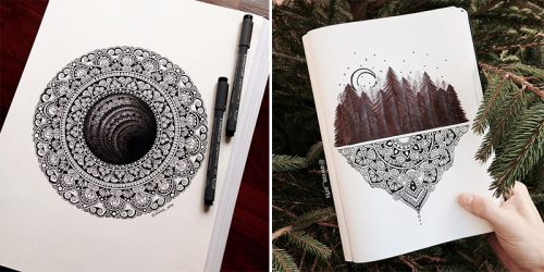 Intricate and Beautiful Mandala Designs by Marta Felicioni