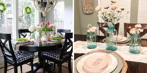 26 Delightful Spring Table Decoration Ideas