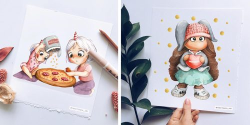 Children Illustrations by Svetlana Yanetskaya