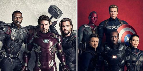 90's Hollywood Stars Instead of Well-Known Marvel Heroes? Good or Bad Switcheroo?