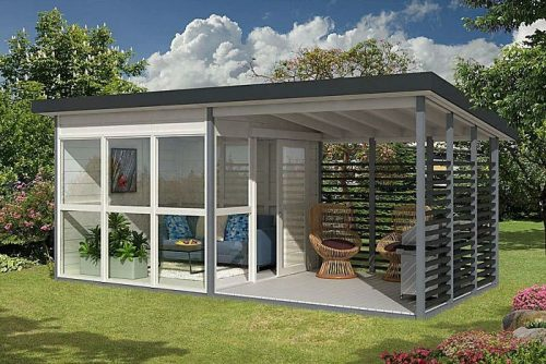 Allwood's 'Garden House' DIY Kit – 1 Day to Assemble
