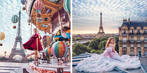 Parisian Fantasy – Perfect Feminine Photo Series