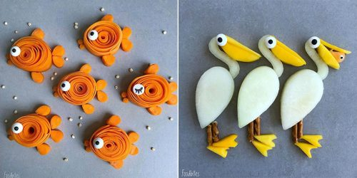One Creative Mum and the Whole New World of Food Characters