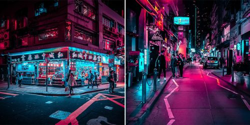 Electrifying Vision of an Urban Jungle #HONGKONGGLOW