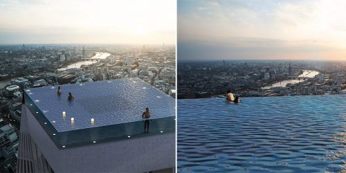 London Will Soon Have the First Infinity Pool Atop a Skyscraper