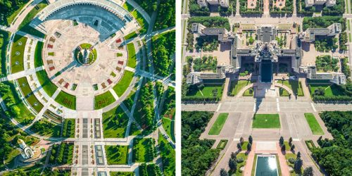Reality-Bending Photos of Russian Cityscapes Inspired by the Movie Inception