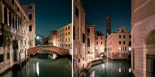 """Sleeping Venice"" Photo Series by French Photographer Thibaud Poirier"