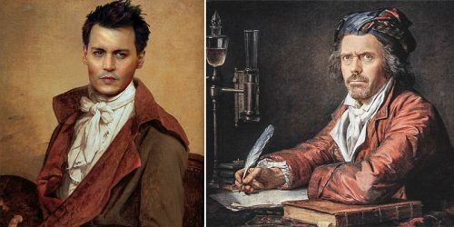 Modern Celebrities Photoshopped into Famous Renaissance Paintings