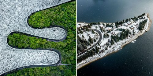 Gold Medal Winning Photographs from Above by Ingenious Romanian Ovi D. Pop