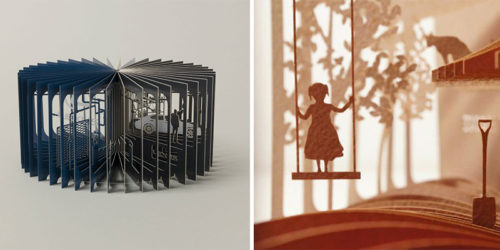 360° Books Unfold Visual Stories – by Yusuke Oono