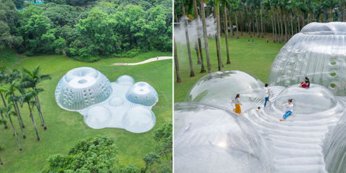 Air-Mountain by Aether, Connecting Man-Made with Nature, Interior with Exterior