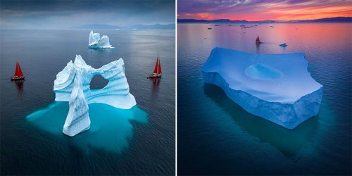 "The ""Disappearing"" Beauty of Greenland – Albert Dros' Latest Project with Special Mission – Global Warming Awareness"