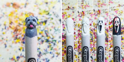 Wax Nostalgic: Crayon Sculptures by Hoang Tran