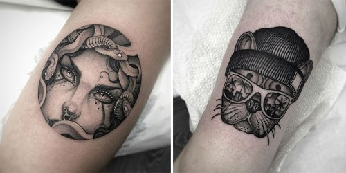 Americana and Neo-Traditional Tattoo Style by London Based Artist